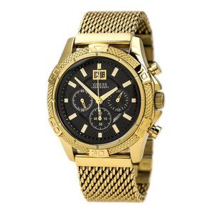New GUESS Stainless Steel Mesh Bracelet Watch
